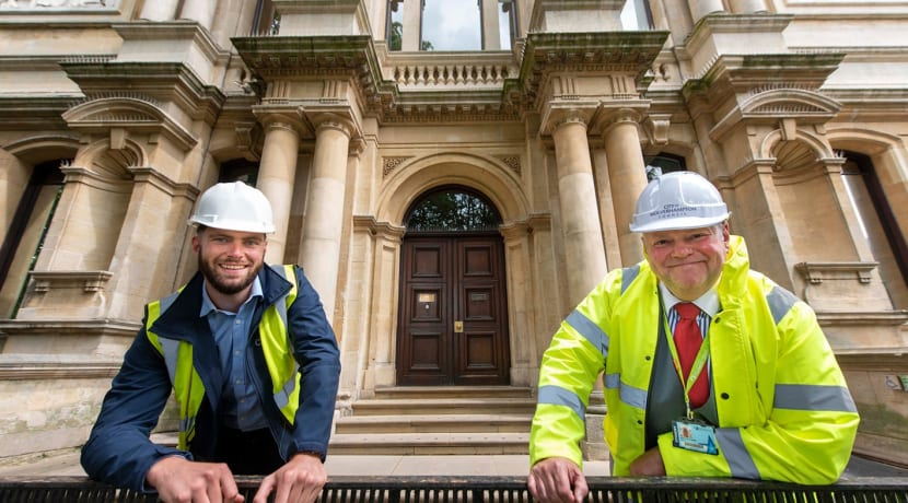 Phase two of art gallery works begin