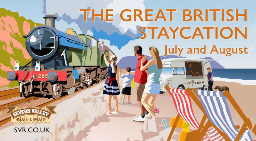 Enjoy The Great British Staycation at Severn Valley Railway this summer