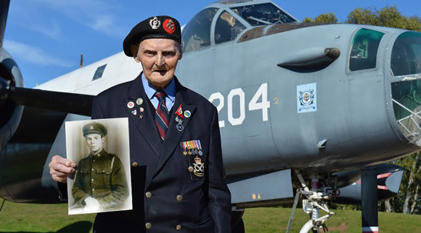 RAF Museum's oldest Volunteer celebrates milestone birthday