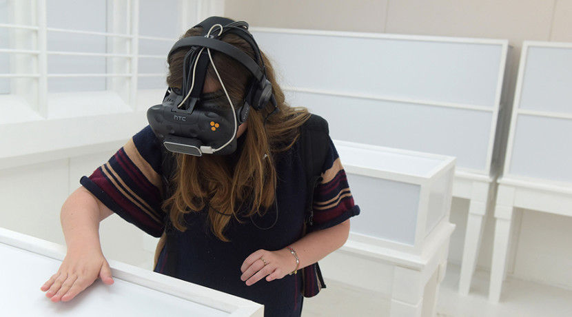 Thresholds VR photography exhibition shortlisted for national BID award