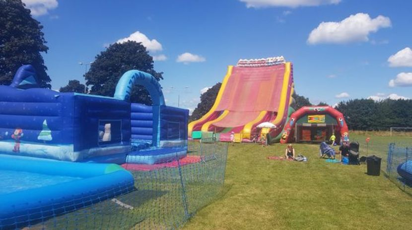 Inflatable fun for the whole family at Fantastic Inflatable World