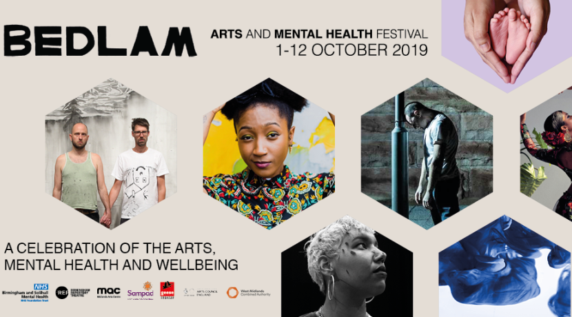 Celebrate mental health and wellbeing at BEDLAM Arts Festival