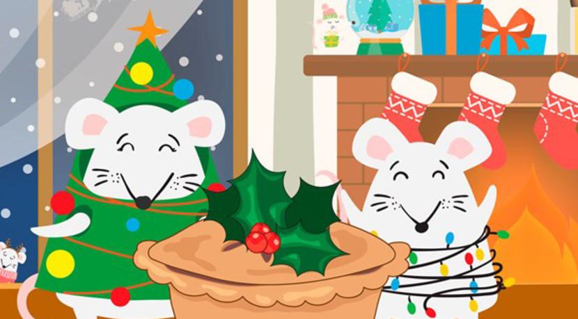 The Mince Pie Mice