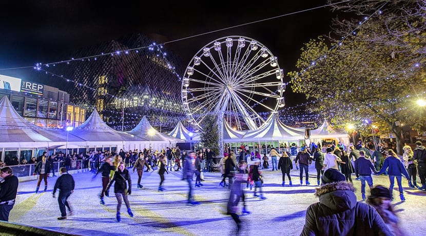 Ice Skate Birmingham and Birmingham Big Wheel are returning to Centenary Square this winter