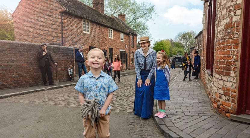 Free entry to Black Country Living Museum for National Lottery players