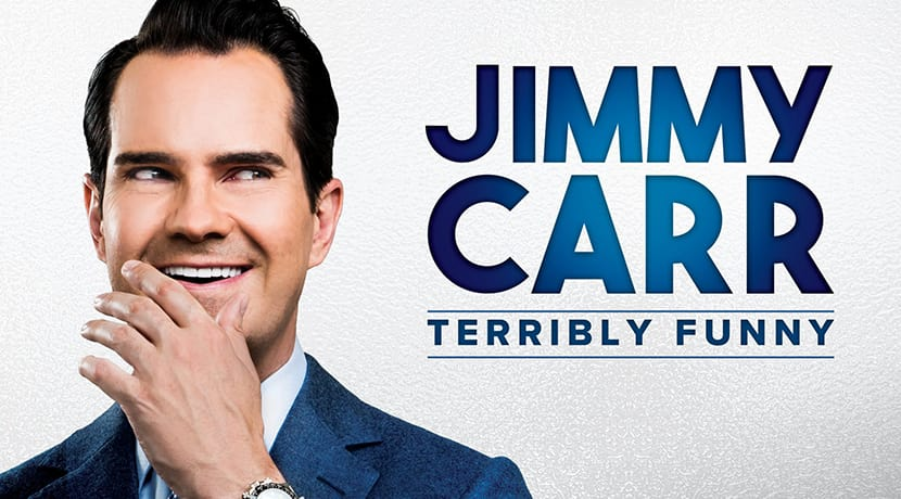 Jimmy Carr brings his Terribly Funny tour to Stoke