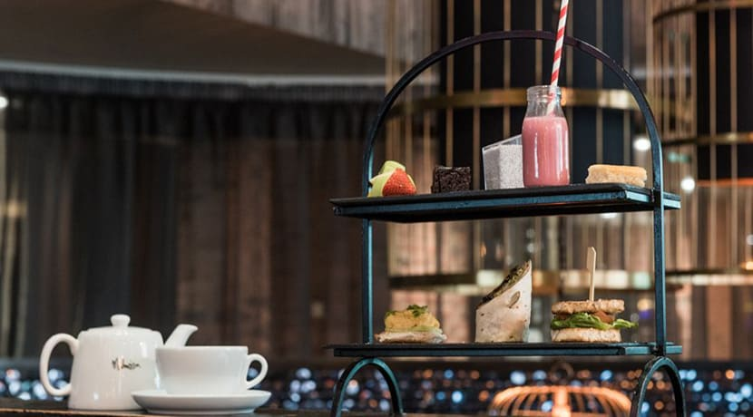 Malmaison have launched a vegan afternoon tea