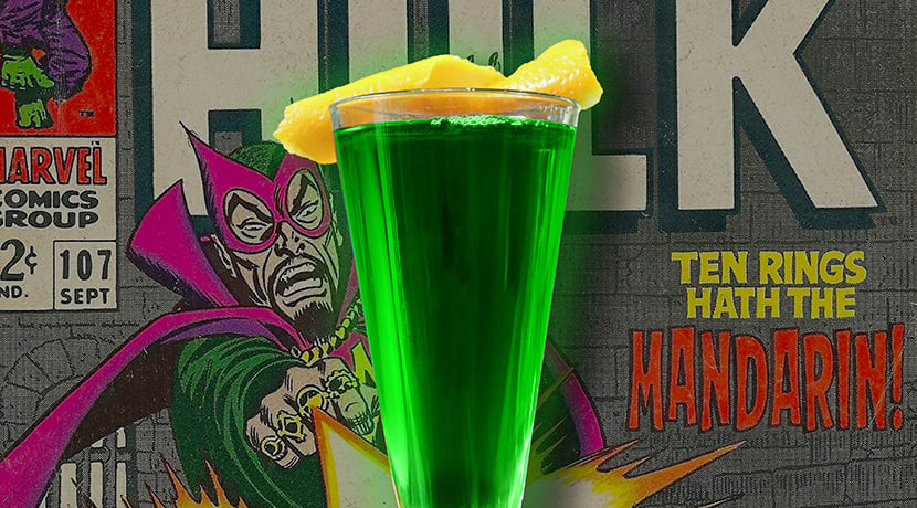 Bar Opus pays homage to Stan Lee with superhero cocktails