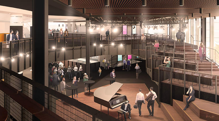 Town Hall Symphony Hall reveal new performance space in foyer redevelopment