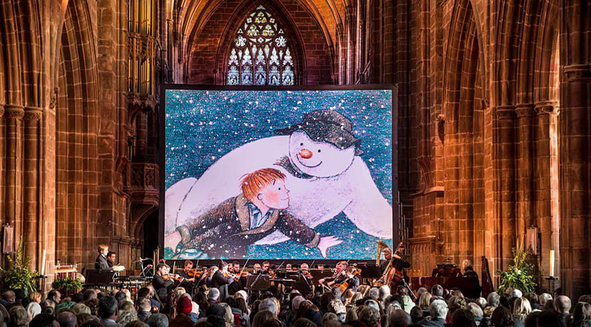 The Snowman set to dazzle cathedral audiences