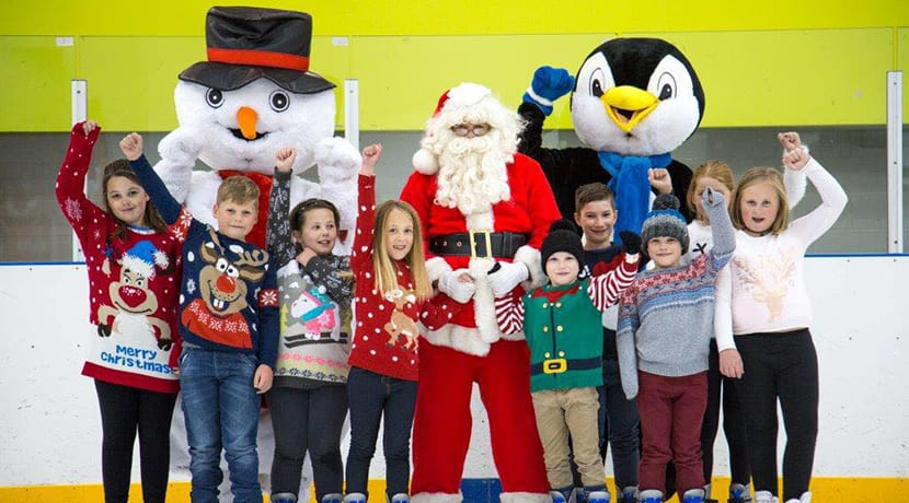 Santa returns to Telford Ice Rink