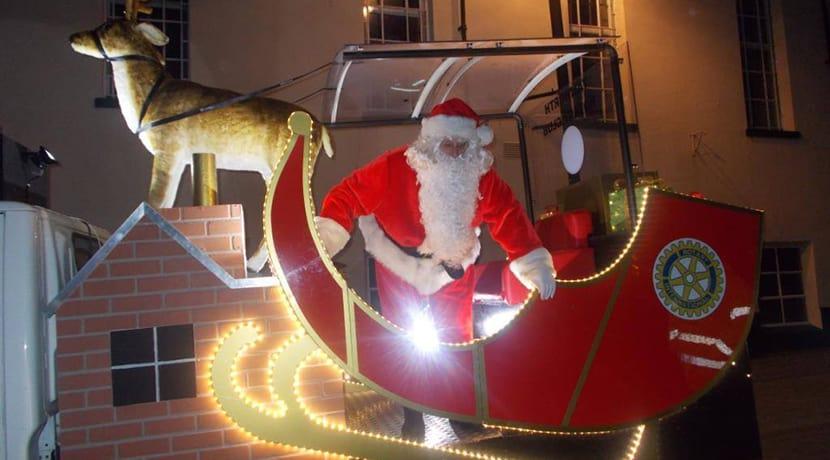 Santa's Tamworth sleigh route revealed