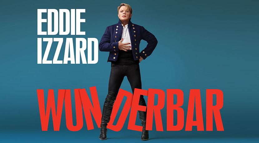 Eddie Izzard to bring his Wunderbar tour to Birmingham