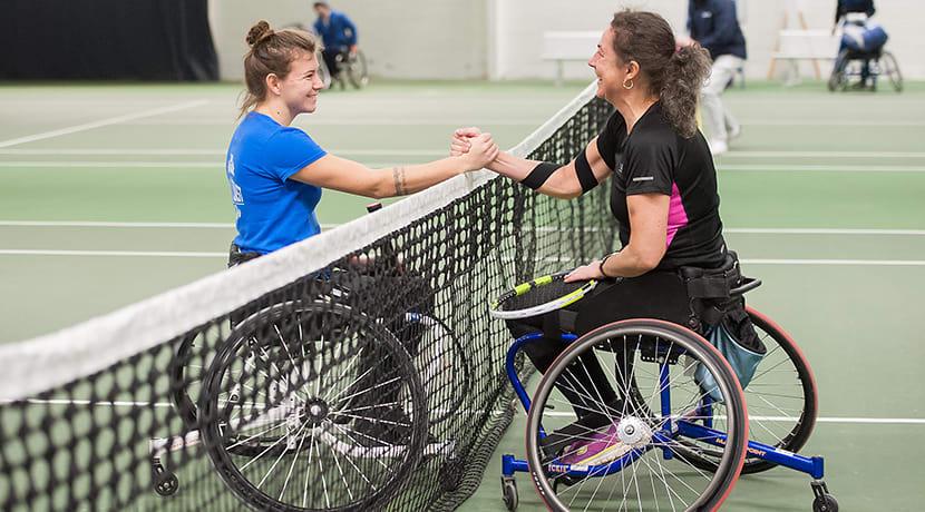 National Wheelchair Tennis Championships return to The Shrewsbury Club
