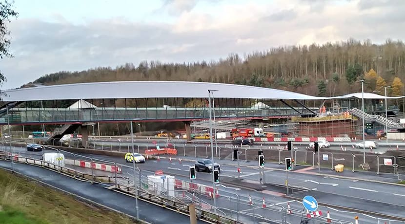 New footbridge to open to the public