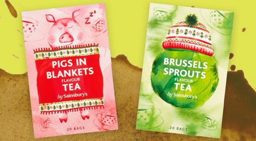 Sainsbury's is selling Brussels sprouts and pigs in blankets flavour teas