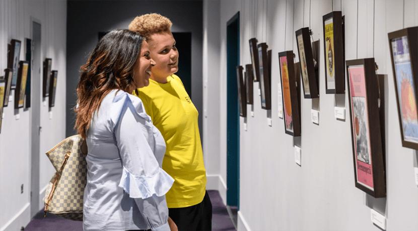 Unexpected exhibitions at Birmingham Hippodrome