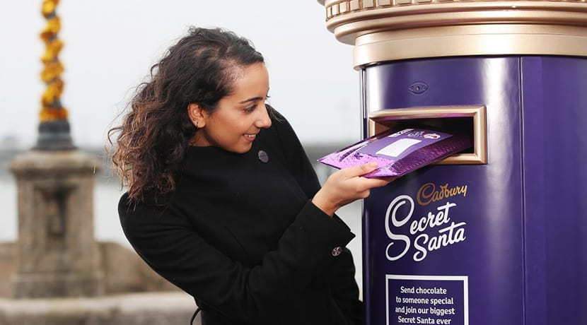 Send free Cadbury chocolate to your loved ones this Christmas