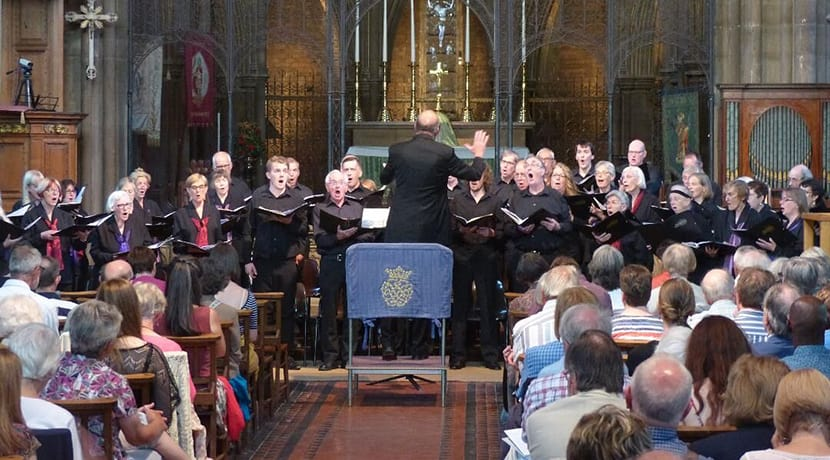 Choir singer shortlisted for BBC carol competition
