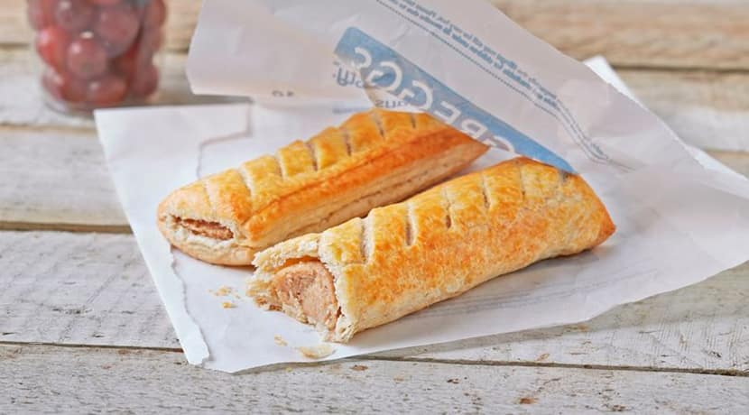 Greggs is reportedly launching a vegan sausage roll