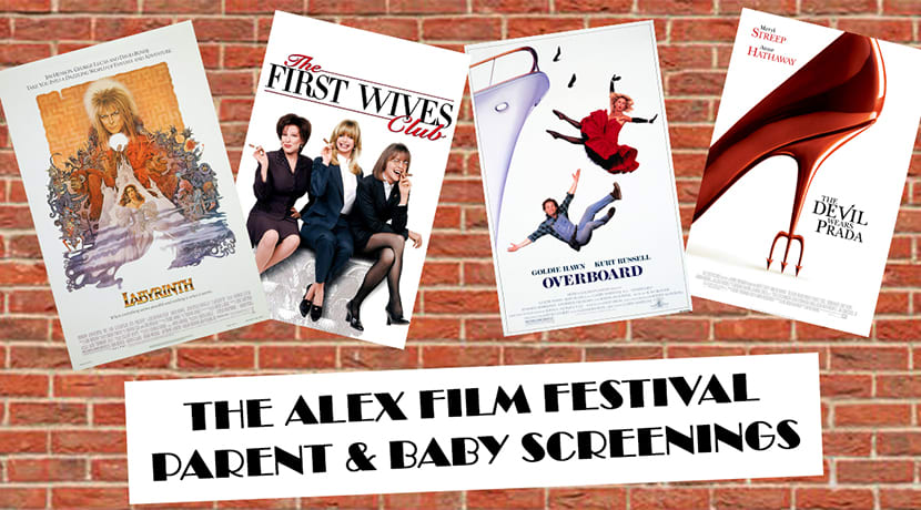 The Alex Film Festival to host free parent and baby screenings
