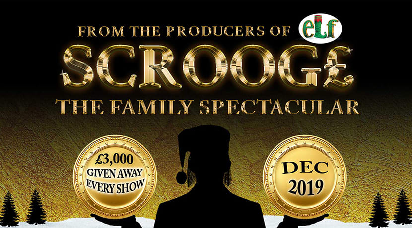 Scrooge - A Family Spectacular is coming to Resorts Word Arena next Christmas