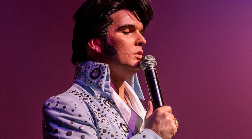 Ben Thompson Live as Elvis