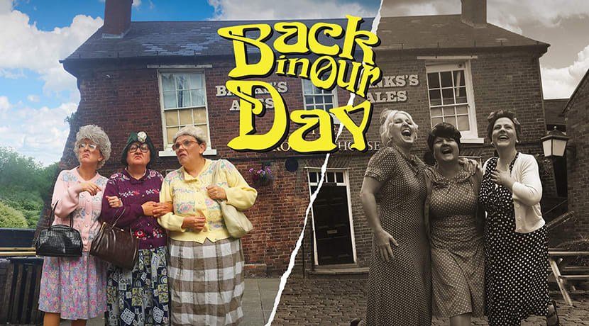 The Fizzogs bring Back In Our Day tour to The Crescent Theatre
