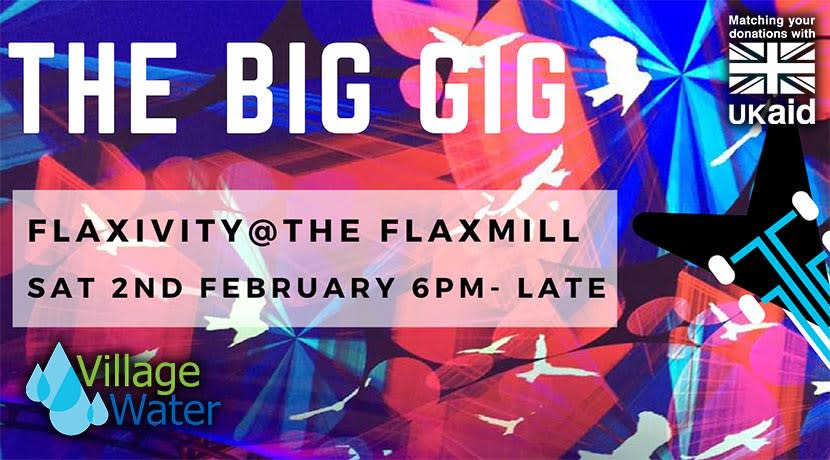 Village Water to hold an evening of music and street food at Shrewsbury's Flaxmill