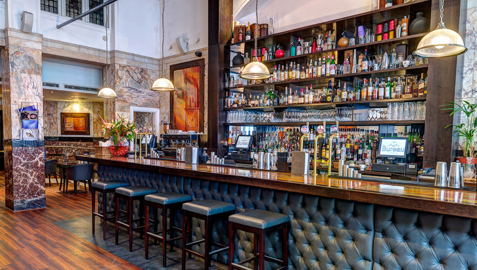 The Bureau Bar on Colmore Row has suddenly closed