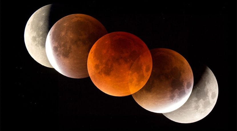 A blood moon will be visible from the UK tomorrow morning