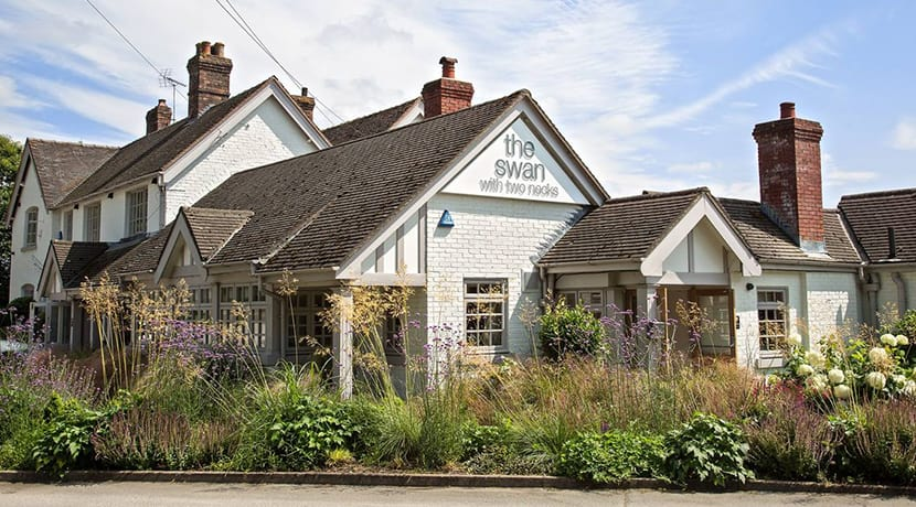 Popular country pub  & restaurant gets a major makeover