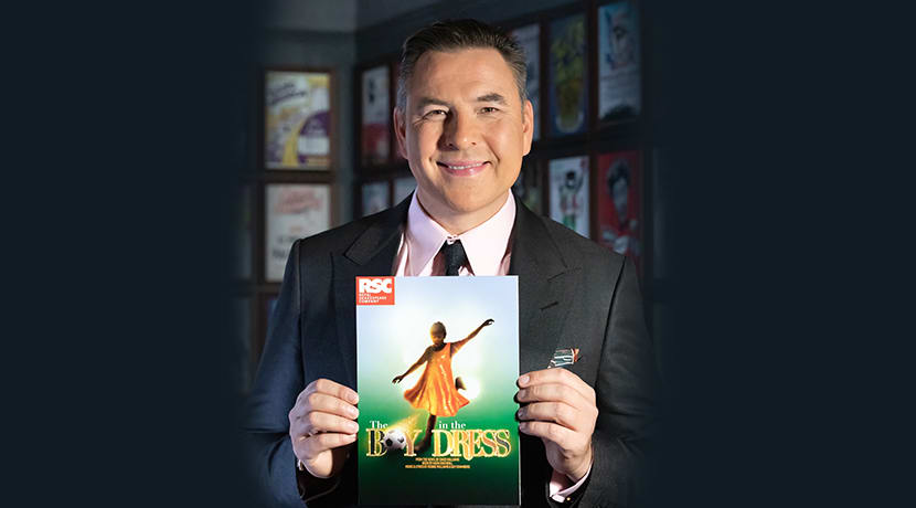 David Walliams' The Boy In The Dress to make its stage debut in The Midlands
