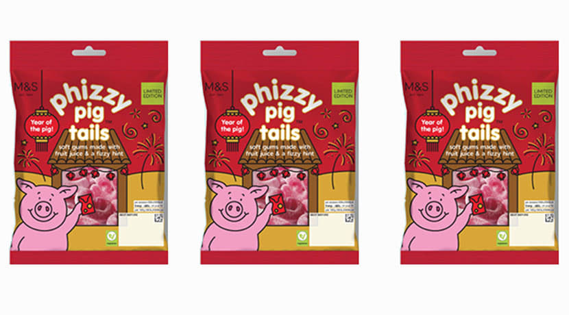 Marks and Spencer launch limited edition Percy Pigs