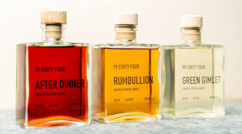 The team behind 18/81 have created a new ready-to-drink cocktail range: 99 Forty Four