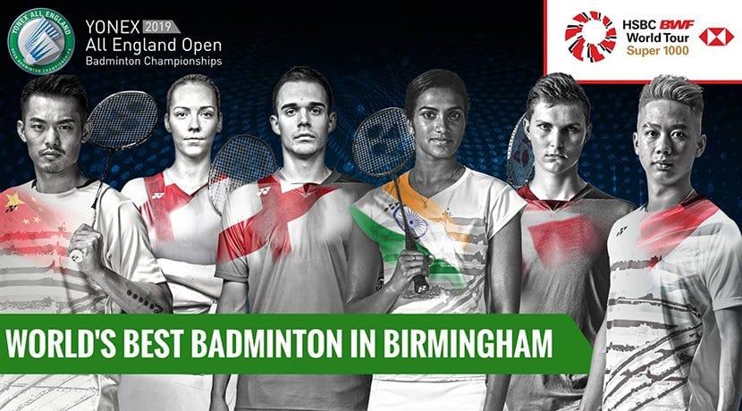 Yonex All England Open Badminton Championships return to Birmingham