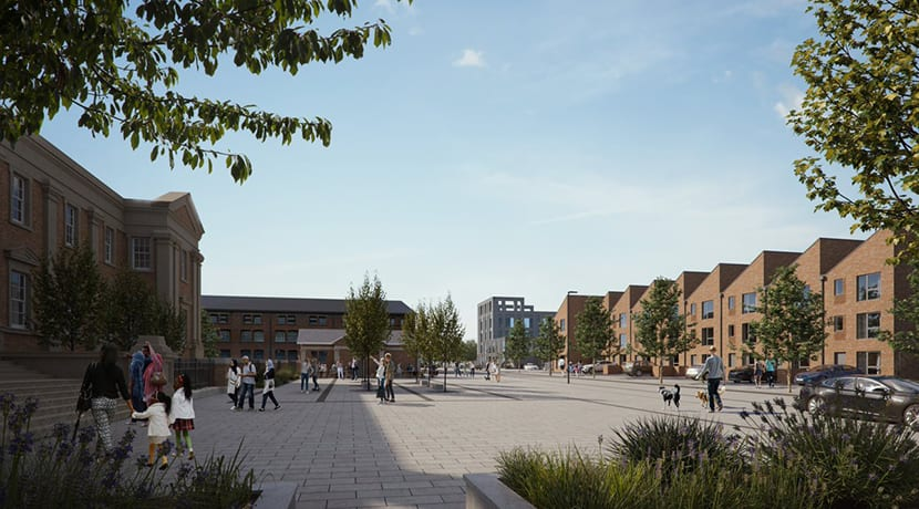 Major plans approved for former bus depot site