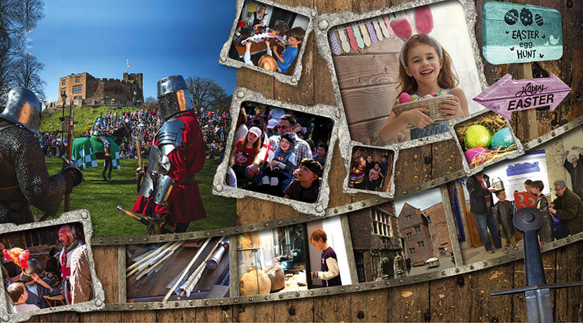 Tamworth Castle – Fun for all the Family for Easter and St George's Day