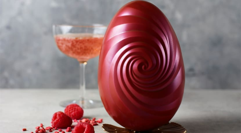 M&S is selling a pink prosecco and berry flavoured egg
