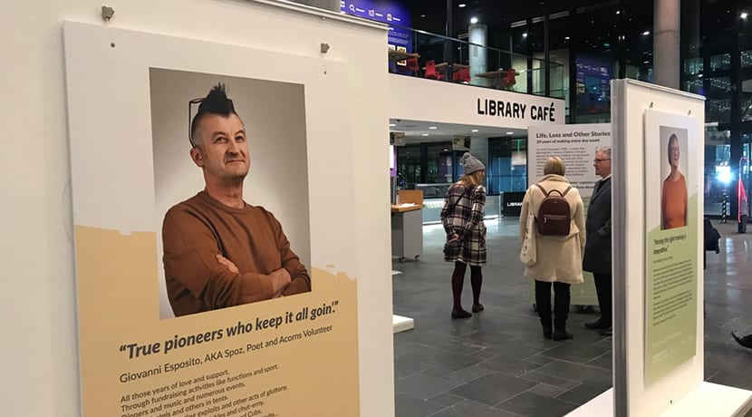 Powerful exhibition shares inspiring story of children's charity