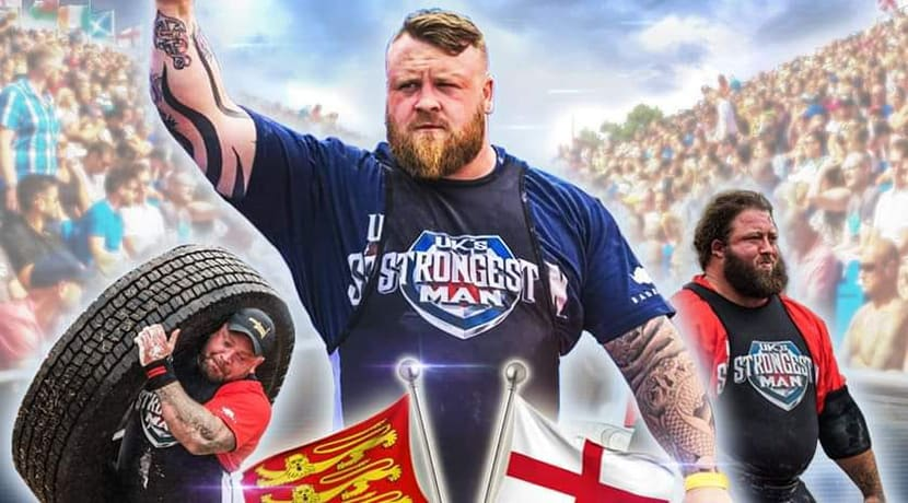 Telford Balloon Fiesta to host England's Strongest Man 2019