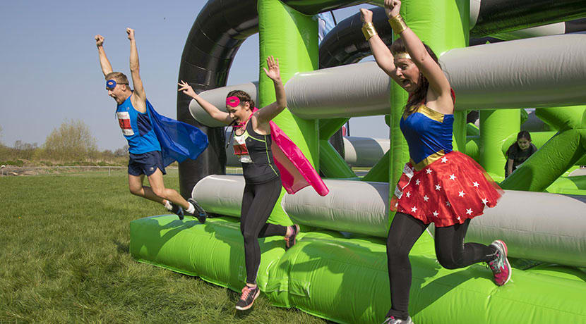 A 5km course featuring ten giant inflatable obstacles is coming to the West Mid Showground
