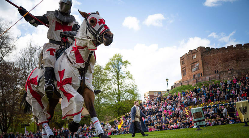 St George's Day extravaganza in Tamworth