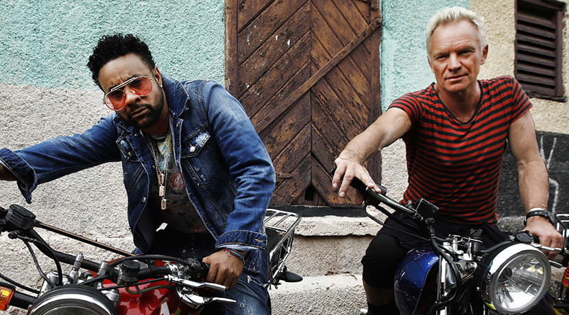 Win tickets to Sting & Shaggy