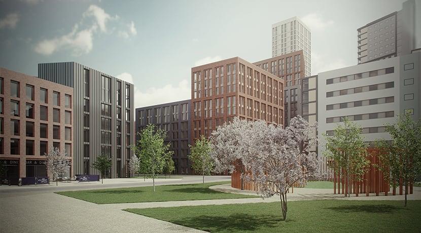 Major city living development in Wolverhampton city centre unveiled