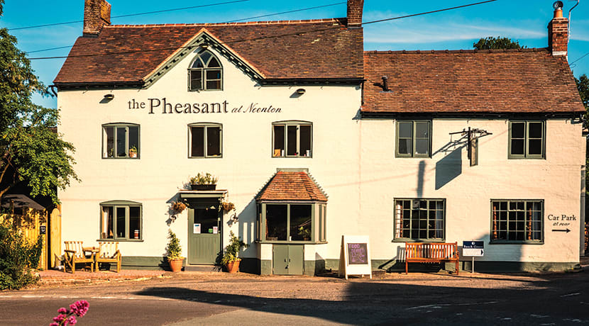 The Pheasant at Neenton - serving up some Shropshire hospitality