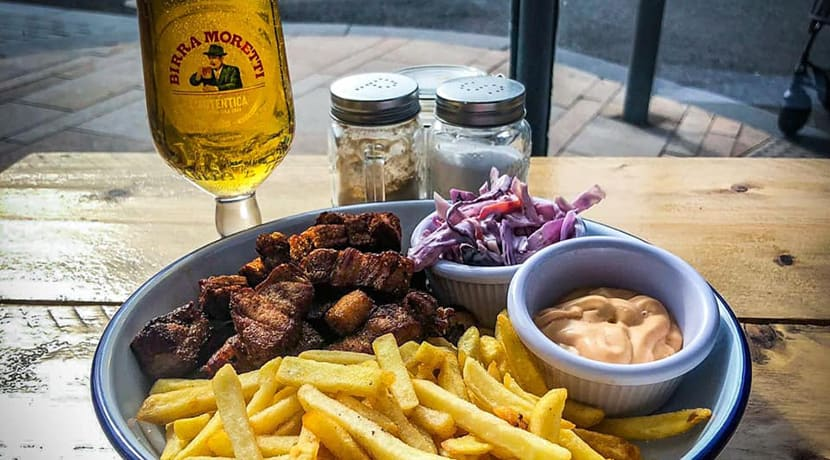 New American-inspired restaurant The Corner has opened in Hanley
