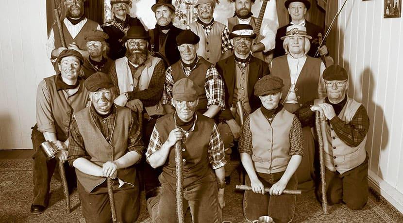 'Morris Gang' Dancing
