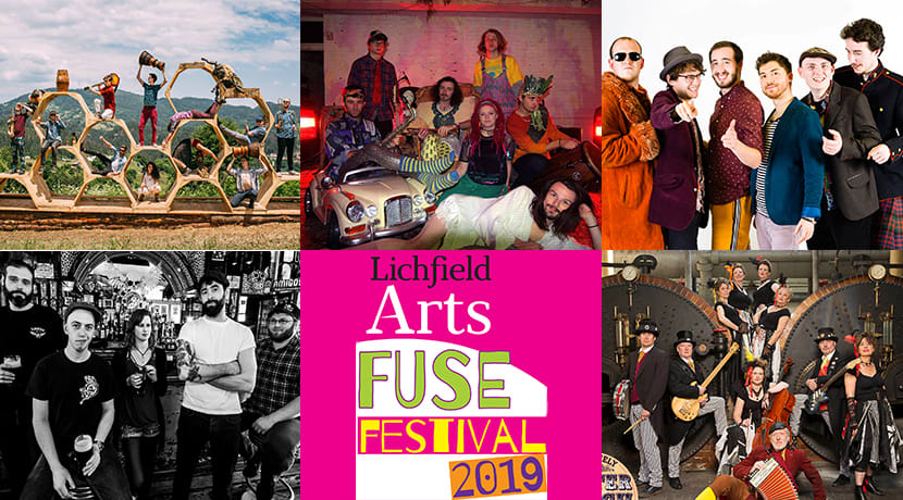 Lichfield Arts' Fuse Festival 2019