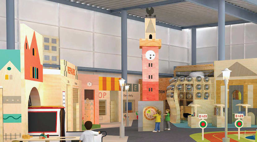 A child-sized mini-city where kids are in charge is opening at Birmingham's Thinktank